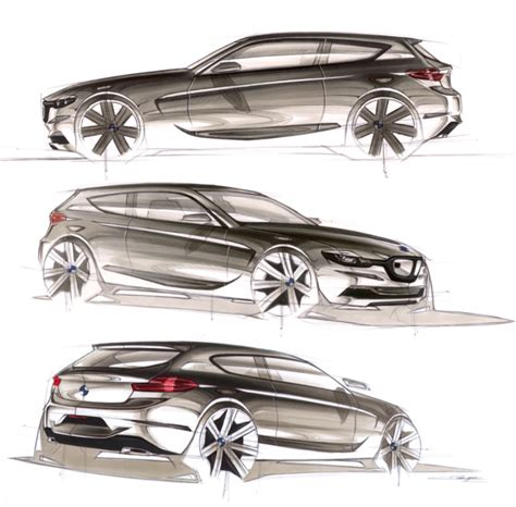 8 Series Sketches by Bmw 1 Series By Cyril Verbrugge At Coroflot