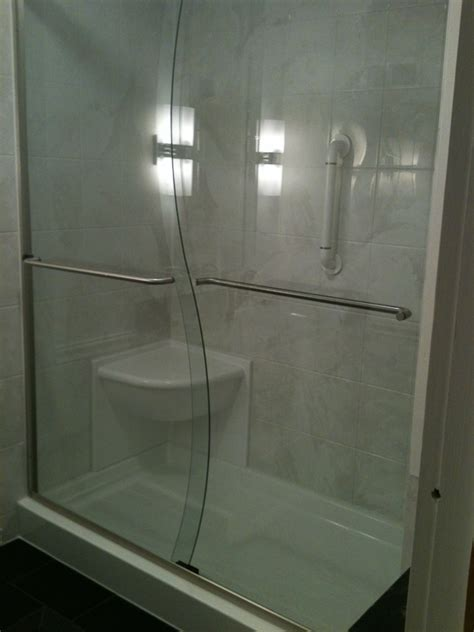 Walk In Shower Kits With Seat by Walk In Shower With Seat Liberty Home Solutions Llc