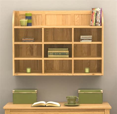 wall unit storage mobel oak reversible wall rack cor07b