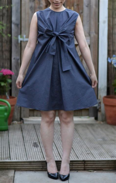 pattern magic knots pattern magic knot bow dress sewing projects