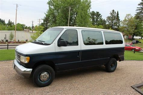 how petrol cars work 1993 ford f series electronic throttle control buy used 1993 ford e 250 club wagon van work van no reserve in rhinelander wisconsin united states