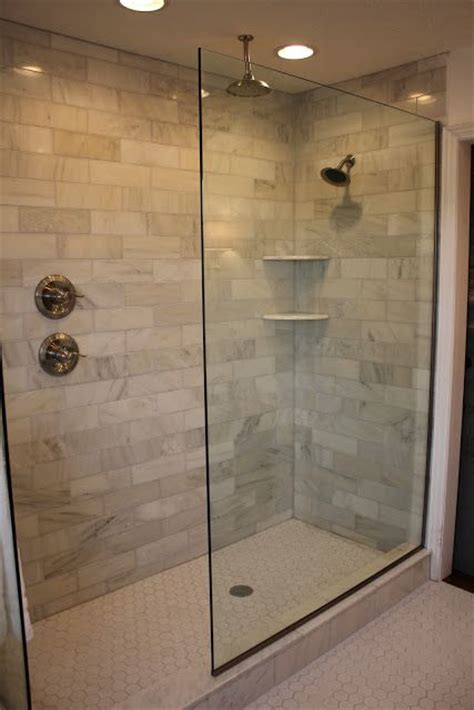 Shower Grout Turning Orange by The Doorless Glass Shower Doorless Glass Shower Marble