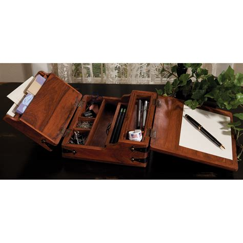 desk in a box writing desk box sturbridge yankee workshop for the