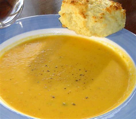 fresh pumpkin soup by kerry simon recipe food com