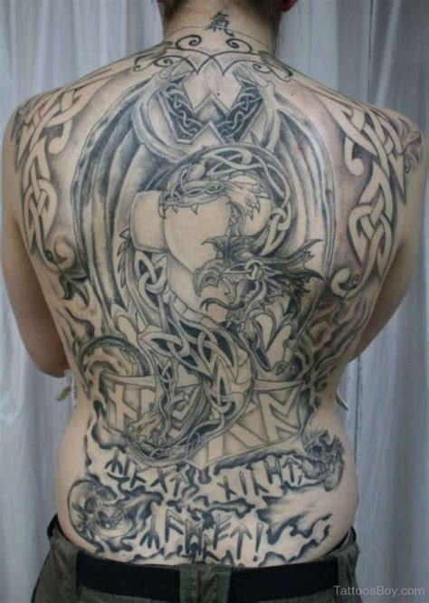 celtic back tattoo designs back tattoos designs pictures page 15