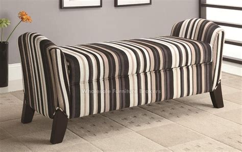 padded storage benches upholstered bench with storage homesfeed