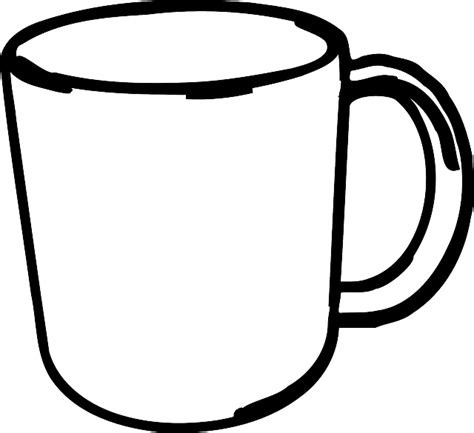 coffee cup silhouette png image gallery mug outline