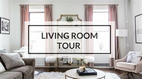 living room tour living room tour nyc apartment tour 2017 youtube