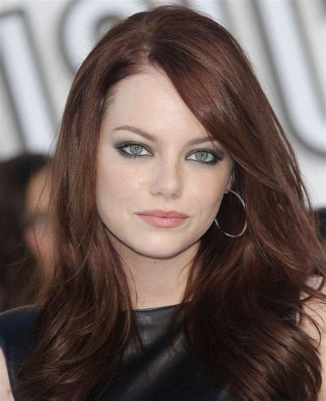 emma stone brown hair emma stone emma stone eyes