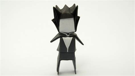 Easy Origami Person - origami groom jo nakashima my profile pic