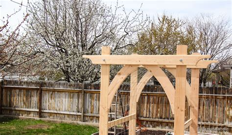 garden arbor plans image gallery homemade arbor ideas