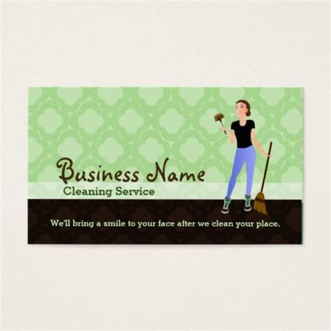 house cleaning business cards templates 197 best images about services business cards on