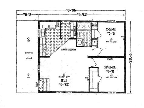 floor plans for small one story homes