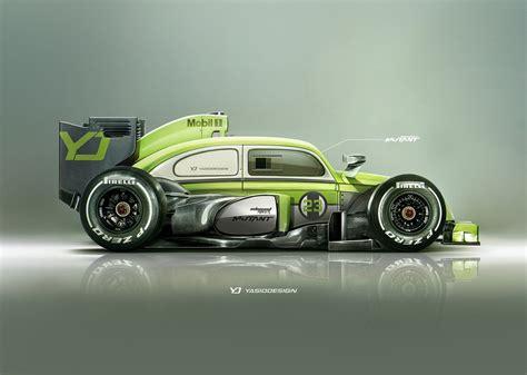 car yasiddesign render artwork formula  volkswagen