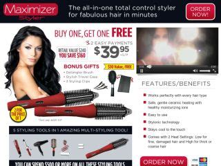 4 In One Hair Styler As Seen On Tv by Maximizer Styler Report Reviews Useful Or Junk