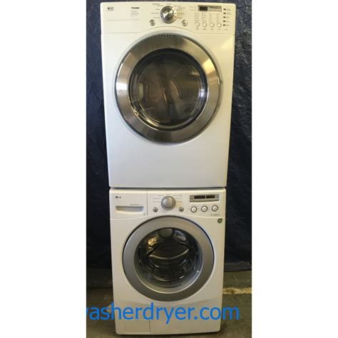 lg tromm washer reviews gas lg tromm front load stackable washer and dryer