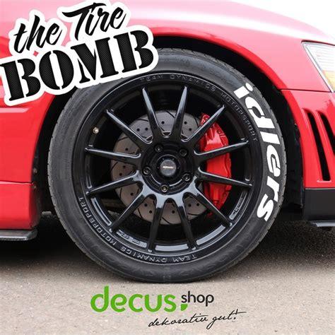 Reifen Aufkleber idlers tire bomb tyre stencils reifen aufkleber sticker