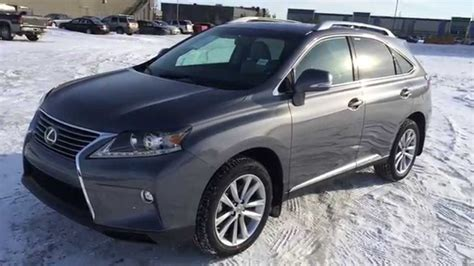 gray lexus rx 350 new grey 2015 lexus rx 350 awd touring package walk
