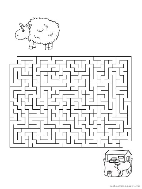 printable mazes first grade 15 best images of 2nd grade maze worksheets 3rd grade