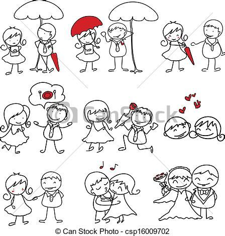 imagenes lindas de amor en caricatura vector clip art de caricatura hand drawn amor car 225 cter