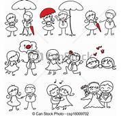 Dibujo De Caricatura Amor  Imagui