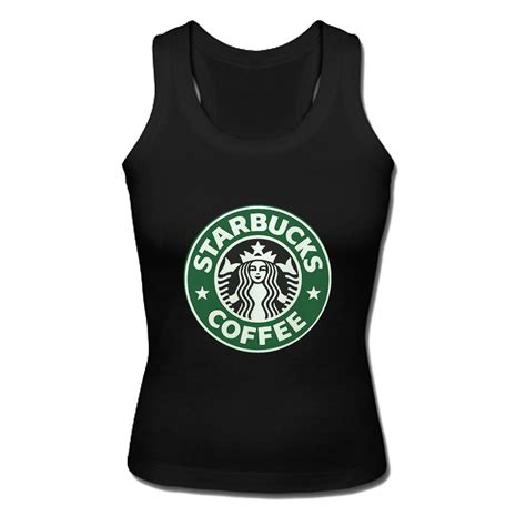 Tangtop Starbuck starbucks coffee tank top
