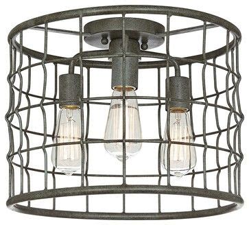 dunmore industrial cage 15 quot wide galvanized ceiling light farmhouse flush mount ceiling 8 best farmhouse kitchen lighting images on country kitchens farmhouse kitchen