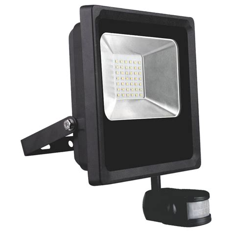 Daylight Led L by Kosnic 10w Led Pir Sensor Floodlight 750lm 6500k