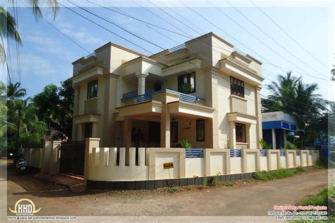 sq feet details facilities house sq feet flat roof 1957 square feet flat roof house kerala home design and
