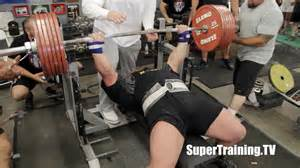 max bench press world record eric spoto 722 lbs 327 5 kg world record bench press