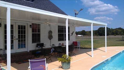 patio covers kits high quality covered patio kits 4 aluminum patio cover