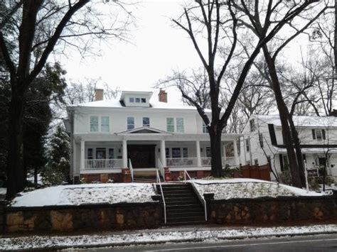 greenville sc bed and breakfast morning after a light snow picture of park house bed breakfast greenville