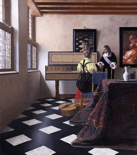 traces of vermeer vermeer s paintings might be 350 year old color photographs boing boing