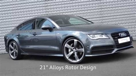 Audi A7 Biturbo Black Edition by Audi Sligo Audi A7 Sportback 3 0tdi Bi Turbo S Line