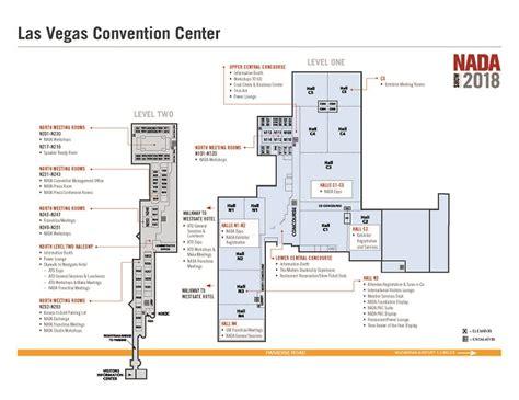 las vegas convention center floor plan nada show convention center maps