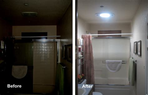 Sun Glo solar tubes before and after Traditional sacramento by Solarise Tube Skylights