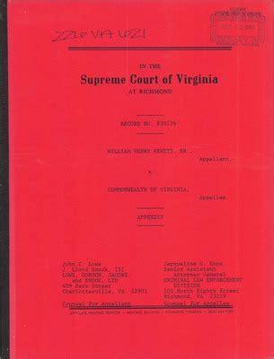 Henrico Court Records Virginia Supreme Court Records Volume 226 Virginia Supreme Court Records
