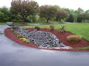 drainage ditch landscaping ideas drainage pipe driveway landscaping rip rap swale