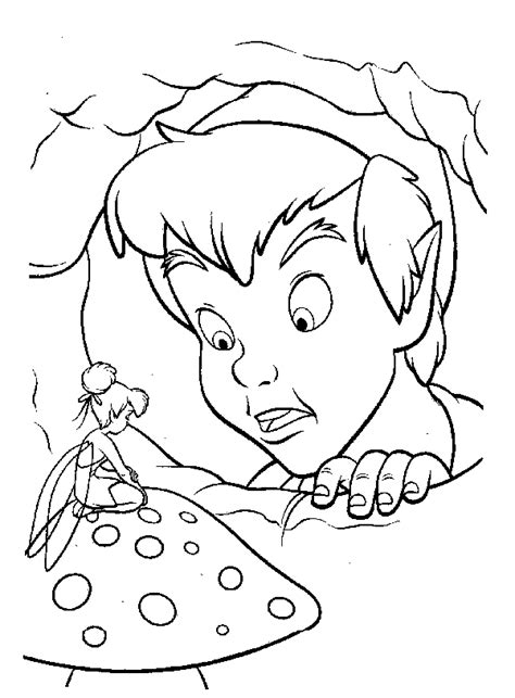 tinkerbell coloring pages quot peterpan anxiety quot gt gt disney