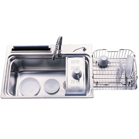Large Kitchen Sink With Drainer Versastyle Large Single Bowl Kitchen Sink With Accessories And Drainer Reviews