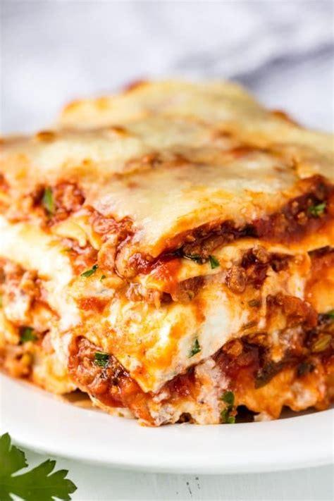 the most amazing lasagna recipe