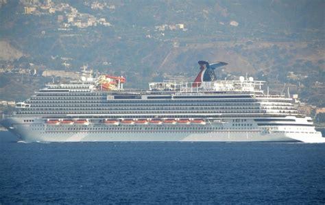carnival vista boat carnival vista damaged piers and yachts at messina marina
