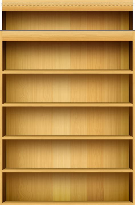 Tidy Bookcase Empty Bookshelf Wallpaper Wallpapersafari
