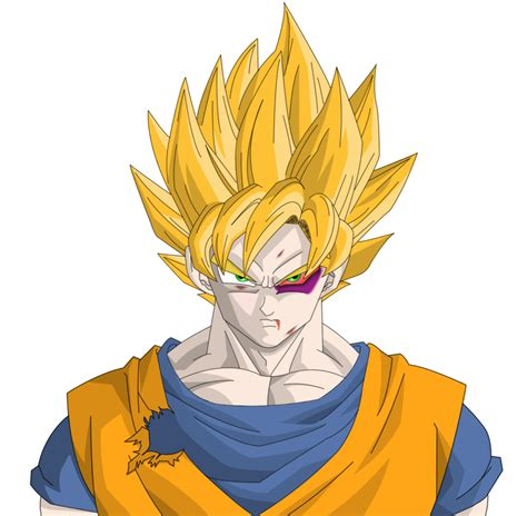 Goku Z z goku by herohd on deviantart