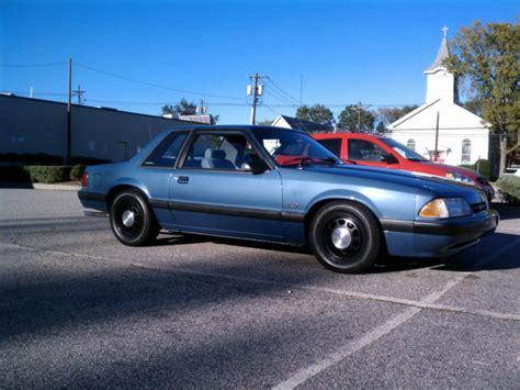 1989 ford mustang lx 5 0 ssp notchback