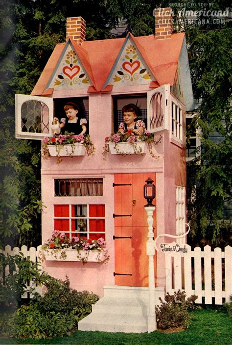 Who Plays House by Build A Come True Play House In Your Backyard 1962