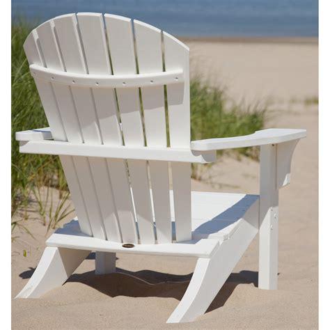 polywood seashell recycled plastic adirondack chair adirondack chairs  hayneedle