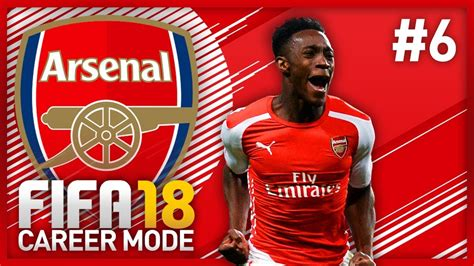 arsenal fifa 18 danny welbeck is op fifa 18 arsenal career mode episode