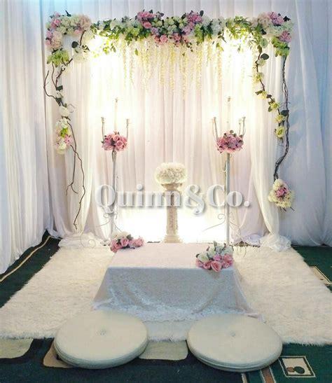 dekorasi akad nikah ..   Quinn&Co. Decoration di 2019