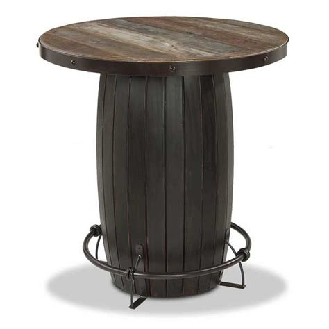 Barrel Bistro Table Barrel Base Bistro Table 967 Bistro